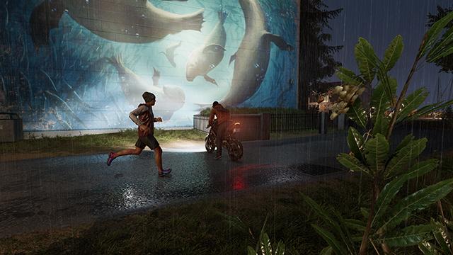 《看門狗 2》- 場景空間反射互動式比較圖 #002 - 極高 vs. 關閉
