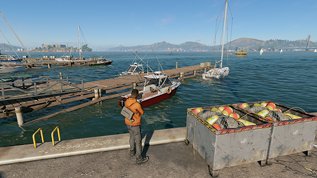 Watch Dogs 2 - Water Interactive Comparison #002 - High vs. Low