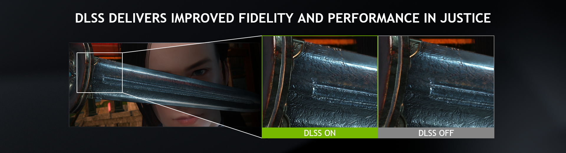 DLSS Delivers Improved Image Quality and Performance In Justice