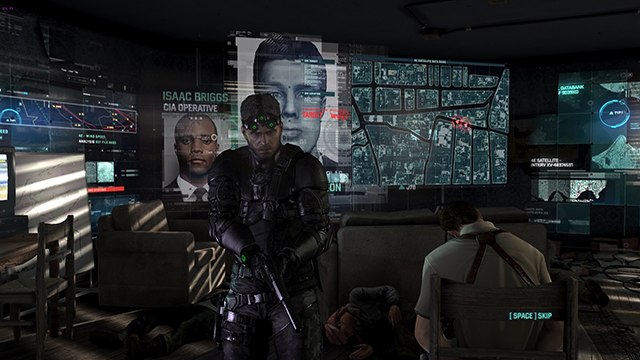 "For maximum image quality, select ""Field AO & HBAO+"" in the Splinter Cell Blacklist options menu to add extra AO shadowing to characters, vehicles and a few unique objects."