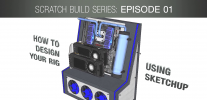 GeForce Garage: Scratch Build Series, Video 1 - How To Design Your Rig Using SketchUp