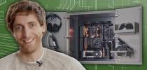 GeForce Garage亮点:Thomas Middleditch 的中世纪风木柜改装机箱
