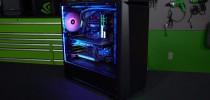GeForce Garage: An Ultimate RGB Elite Performance Build Powered by GTX 1080 Ti