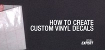 GeForce Garage: Cross Desk Series, Video 5 - How To Create Custom Vinyl Decals