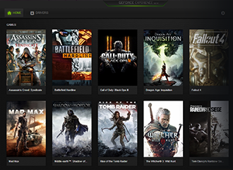 GEFORCE EXPERIENCE DOWNLOADING DRIVER