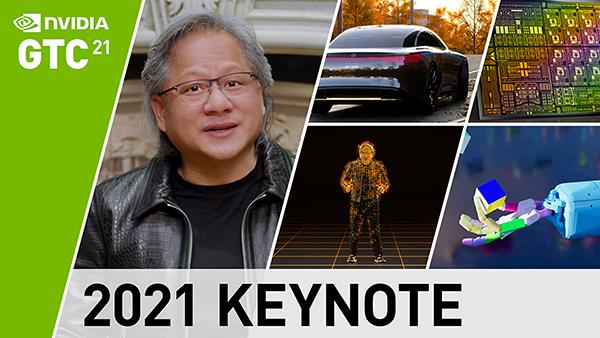 NVIDIA GTC 2021 Keynote | April 12, 2021
