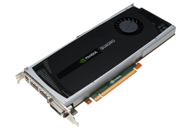 Quadro 4000 Workstation Graphics Card For 3d Design