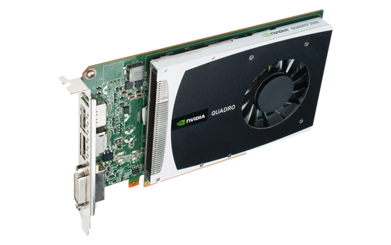 Quadro 2000 \u2013 Workstation graphics card for 3D design, styling