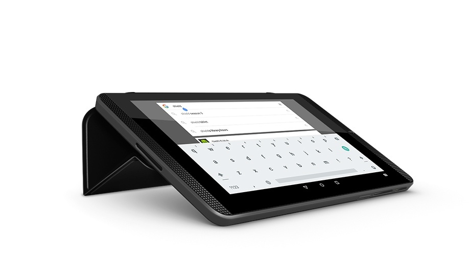 Tablet cover as a keyboard stand