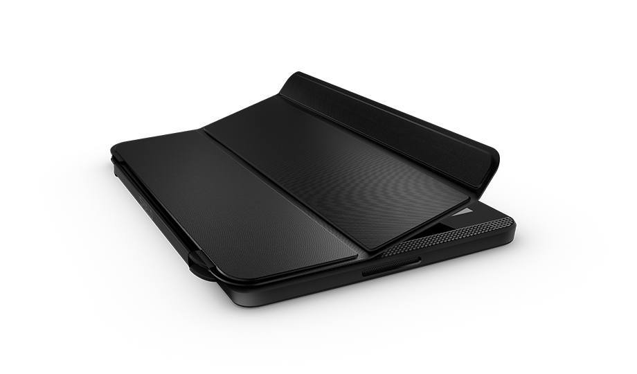 Tablet cover that wakes on open and sleeps on close