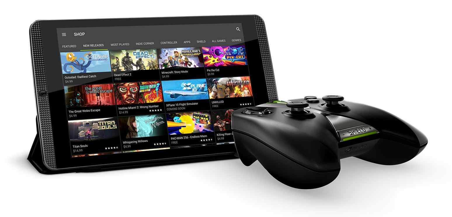 Play games on the new SHIELD tablet K1