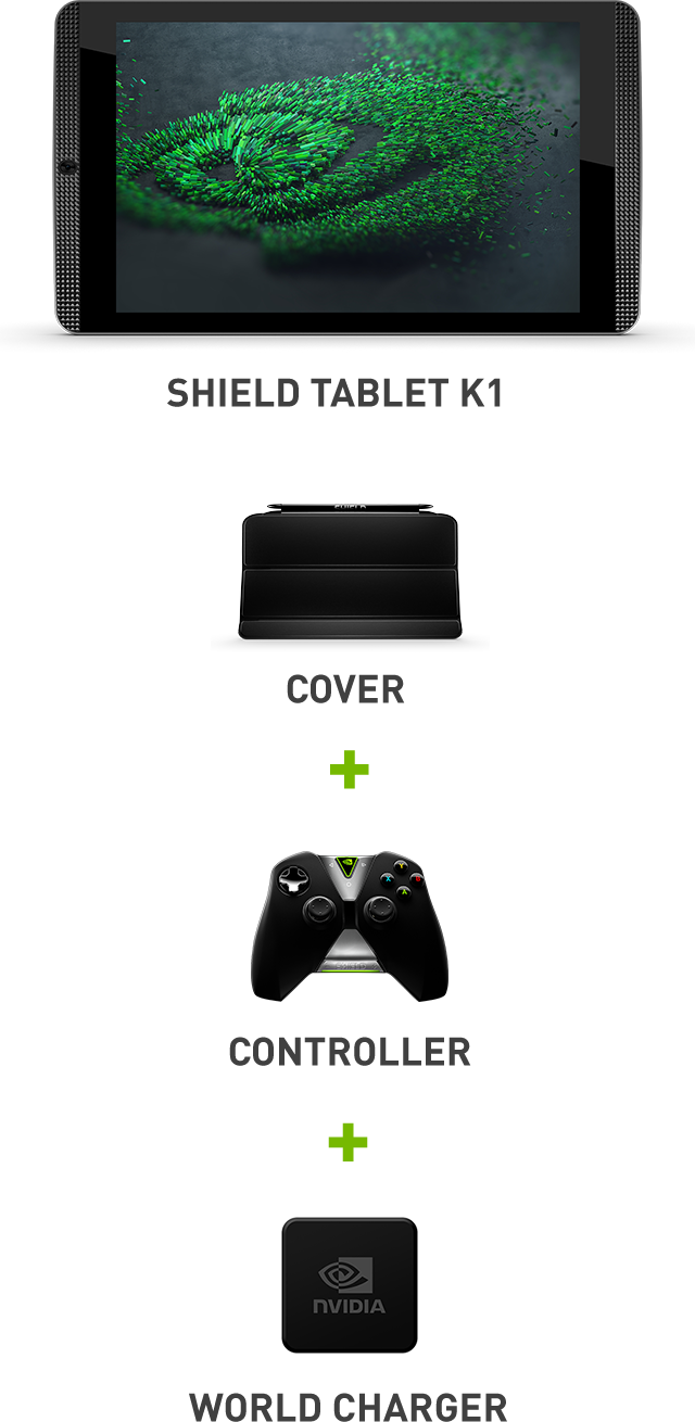 SHIELD tablet K1 Bundle